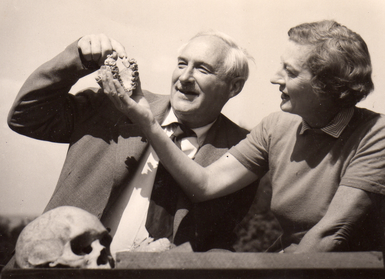the discoveries of hominid fossils by louis leakey and donald johanson Louis leakey was not the first person to ever find an ancient hominid fossil but more than anyone else, he promoted and popularized the study of human evolution.
